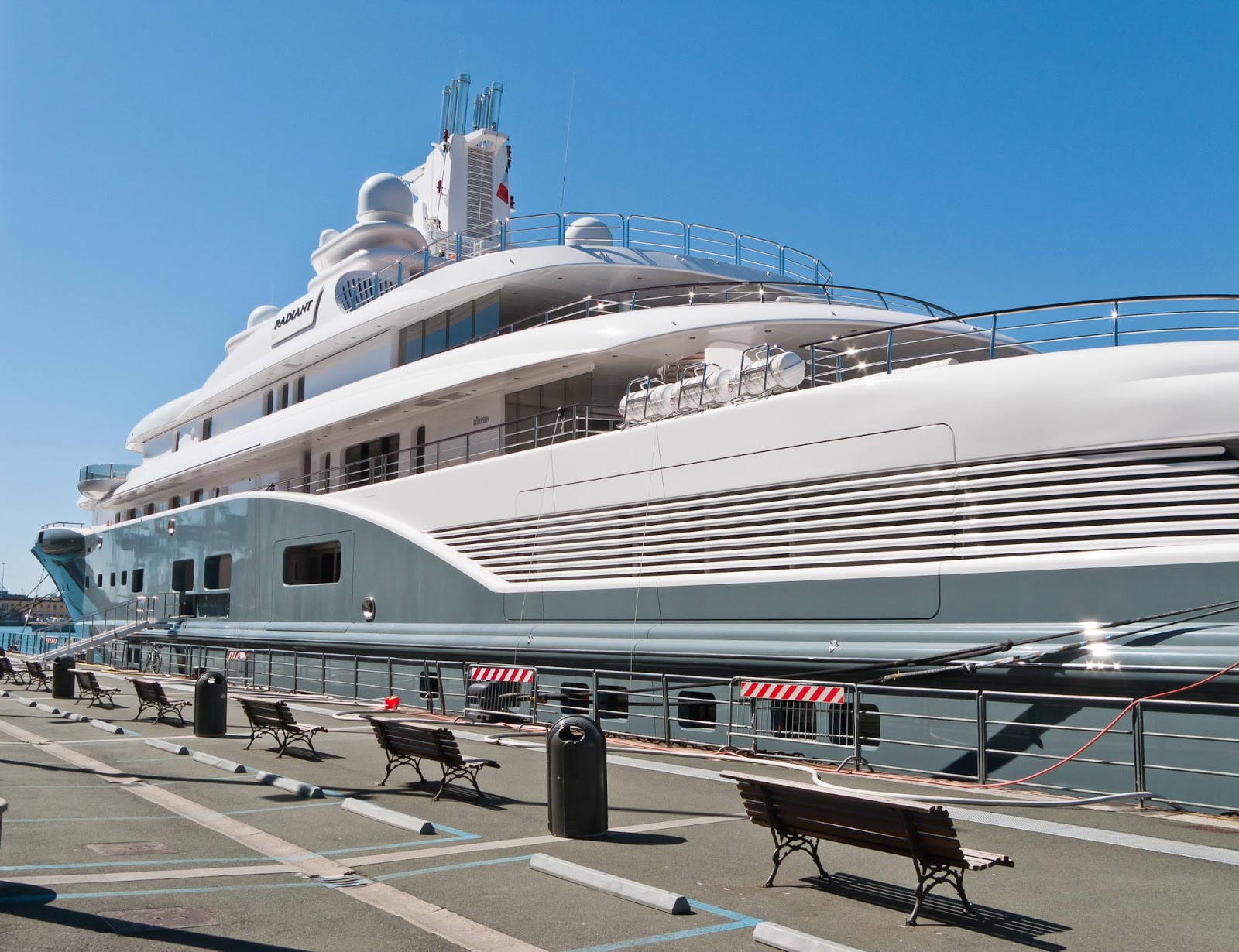Radiant Superyacht Portside