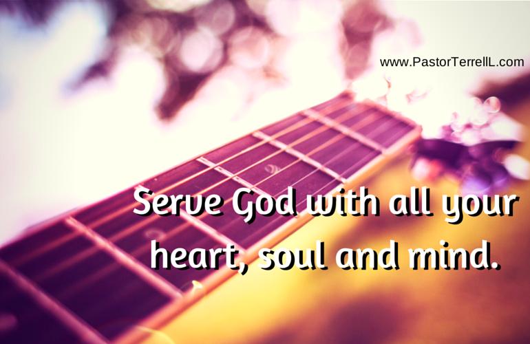 Sikap Melayani Tuhan