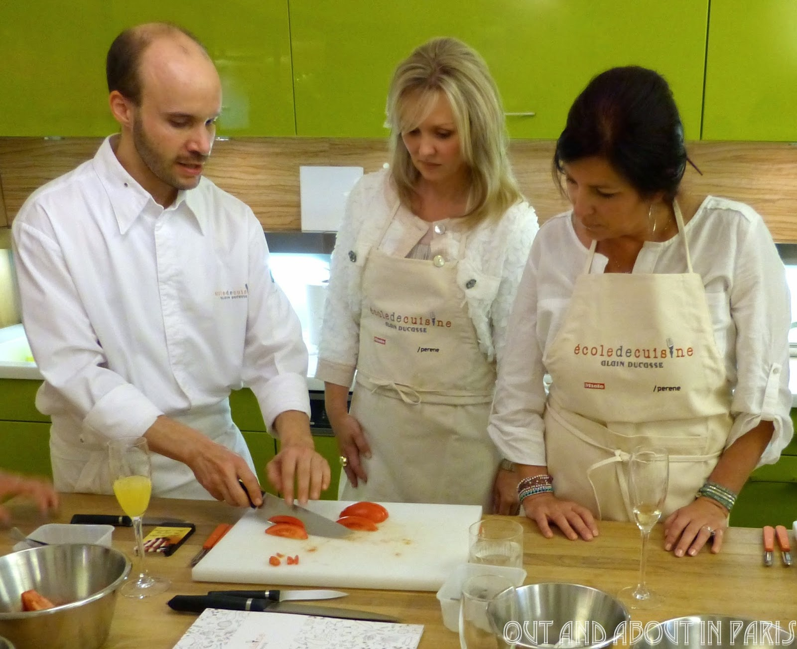 Embraceparis ladies learn to cook like parisian chefs at for Academy de cuisine