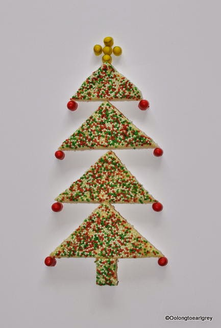 Fairy Bread Christmas tree