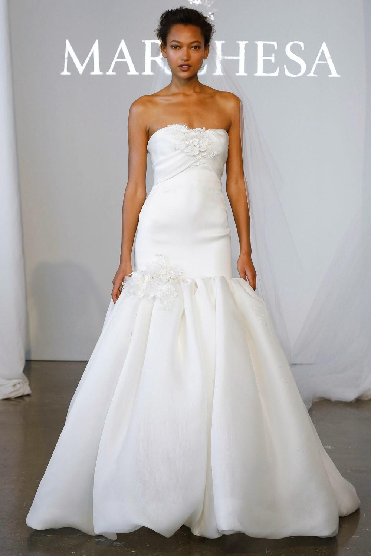 Marchesa Spring 2015 Wedding Dresses