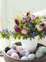 Великденска украса за дома с цветя