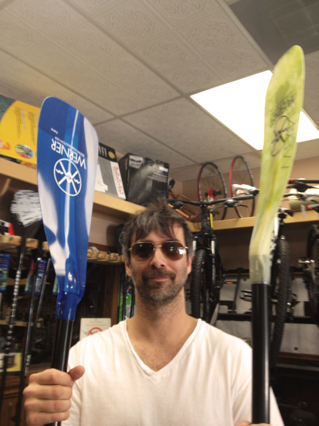 paddle board shopping