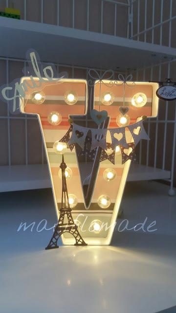 marquee letters, heidi swapp, american craft, paris, tour eiffel