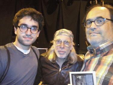 Amb l'Elliott Murphy i el meu fill Edgar