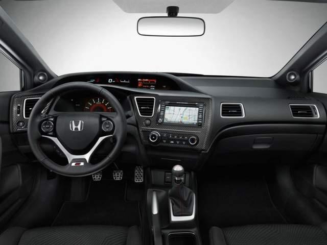 Honda Civic Coupe New 2013 interior