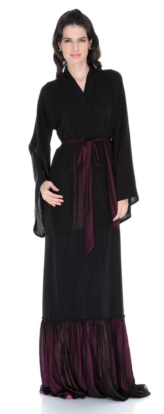Casual abaya sale 2013 daily wear black modern abayas fashion
