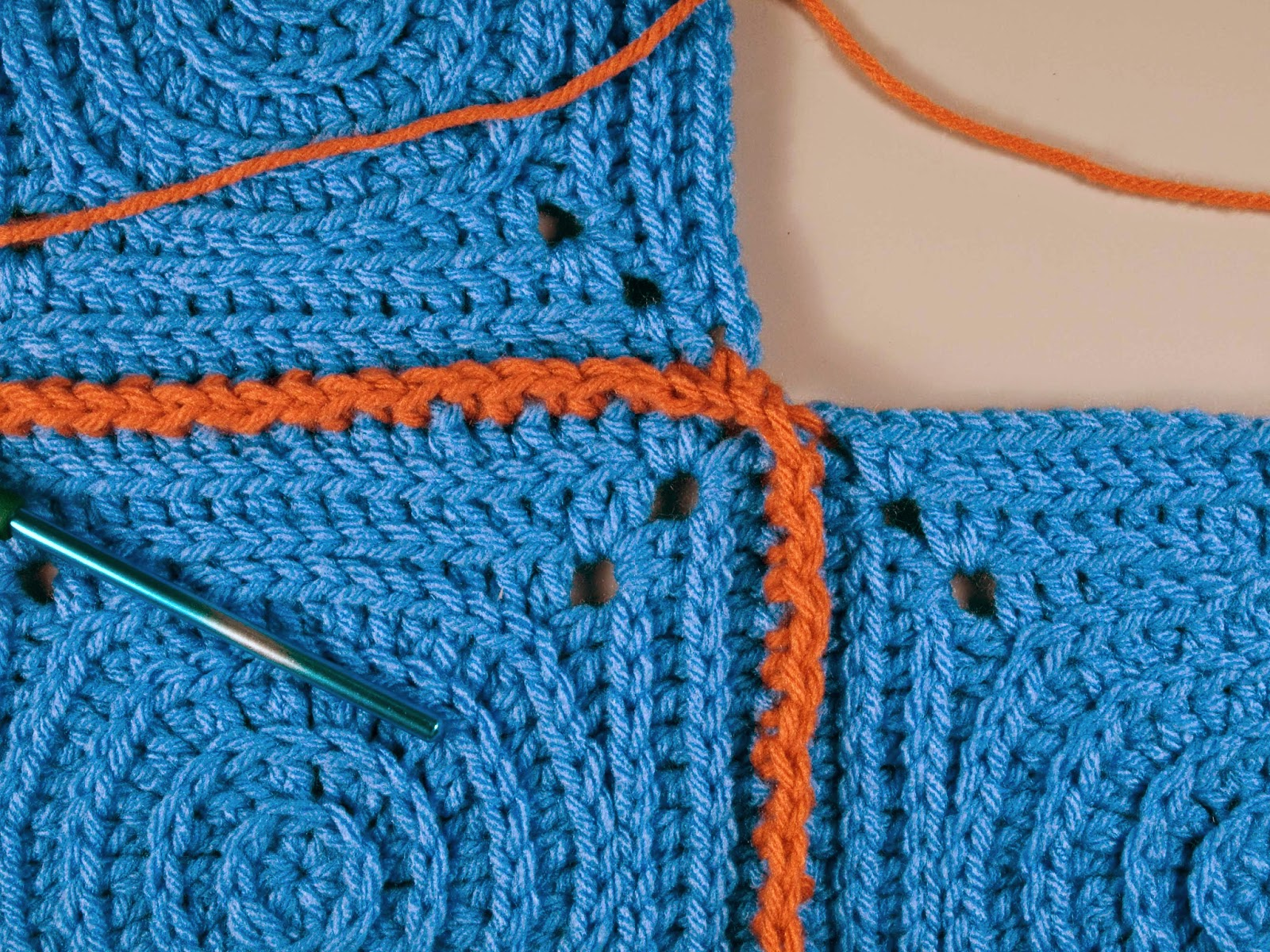 Crochet Stitches Joining : CrochetByKarin: The Single Crochet Joining Stitch
