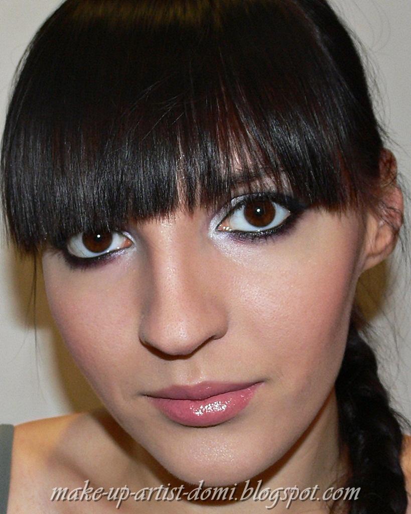 Domi Make Up Artist Makijaż Wieczorowy Z Nutką Koloru