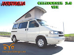 VW T4 CALIFORNIA COACH  , 2.5  T.D.I.  AÑO 1997, 102 CV, WESTFALIA