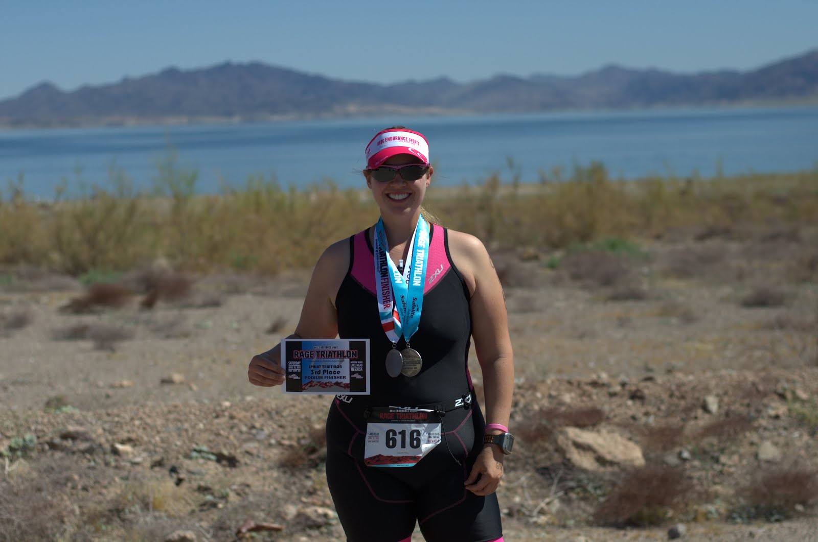 First Sprint Triathlon - Rage in NV