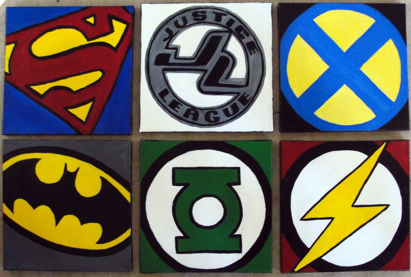 super hero super hero symbols