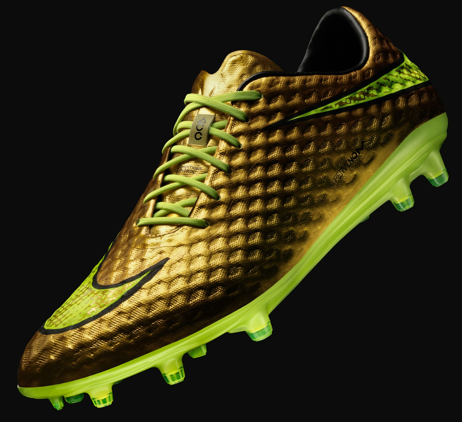 gold neymar 2014 world cup hypervenom boot unveiled