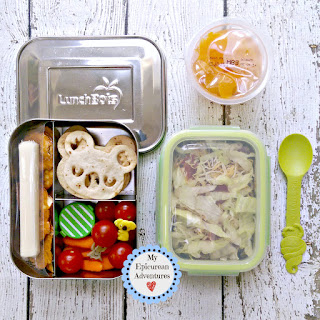 Lunch Box Fun 2015-16: Weeks #13-15. Lunch box ideas, school lunch ideas, lunches