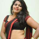 Sitara Hot Photos in Saree at Gundello Guchi Guchi Champake Movie Press Meet 11
