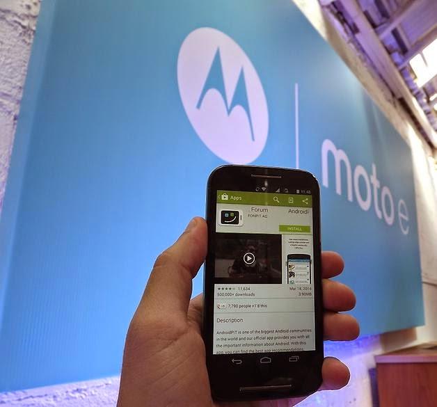 5fatos mais importantes sobre o smartphone Moto E