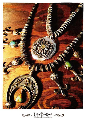 dear blossom navajo style jewelry
