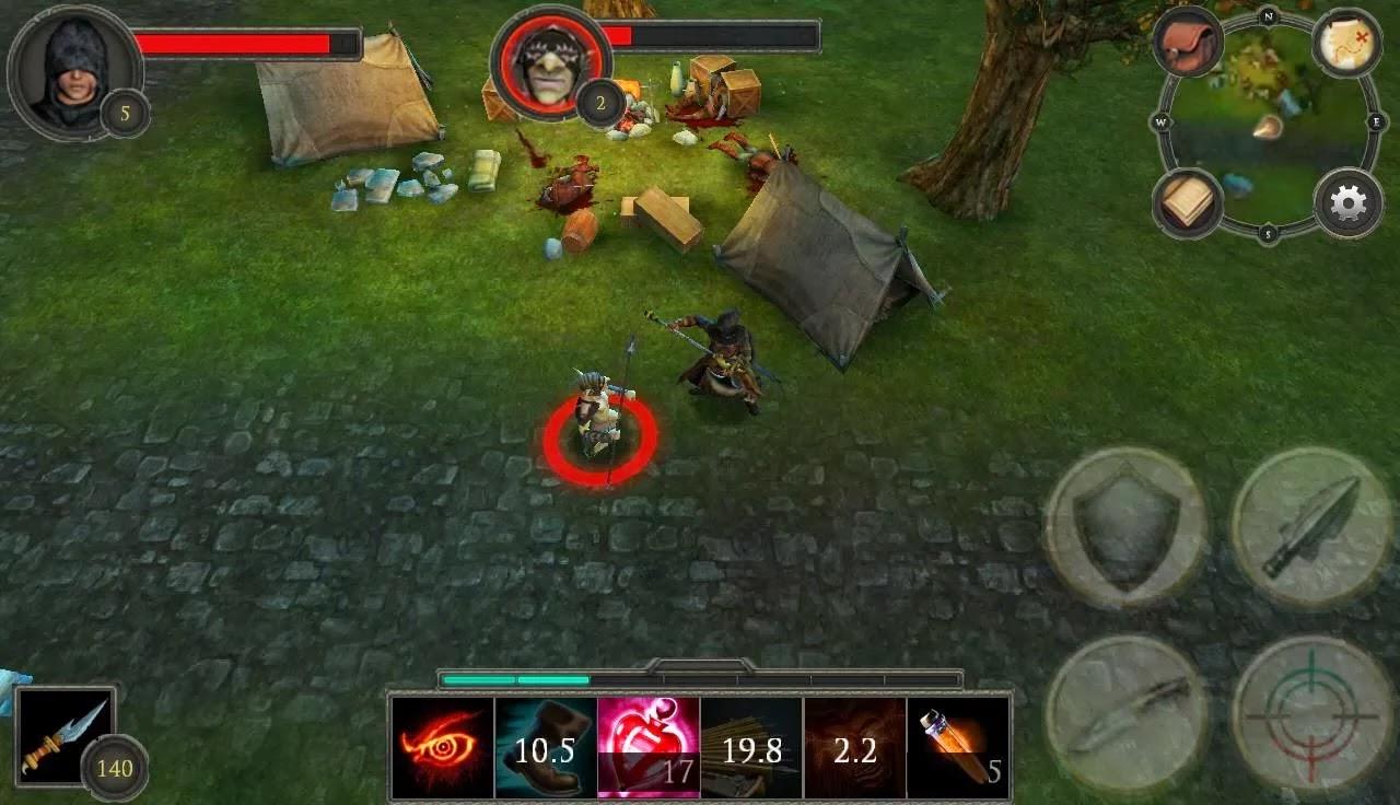 Screenshot Rogue: Beyond The Shadows