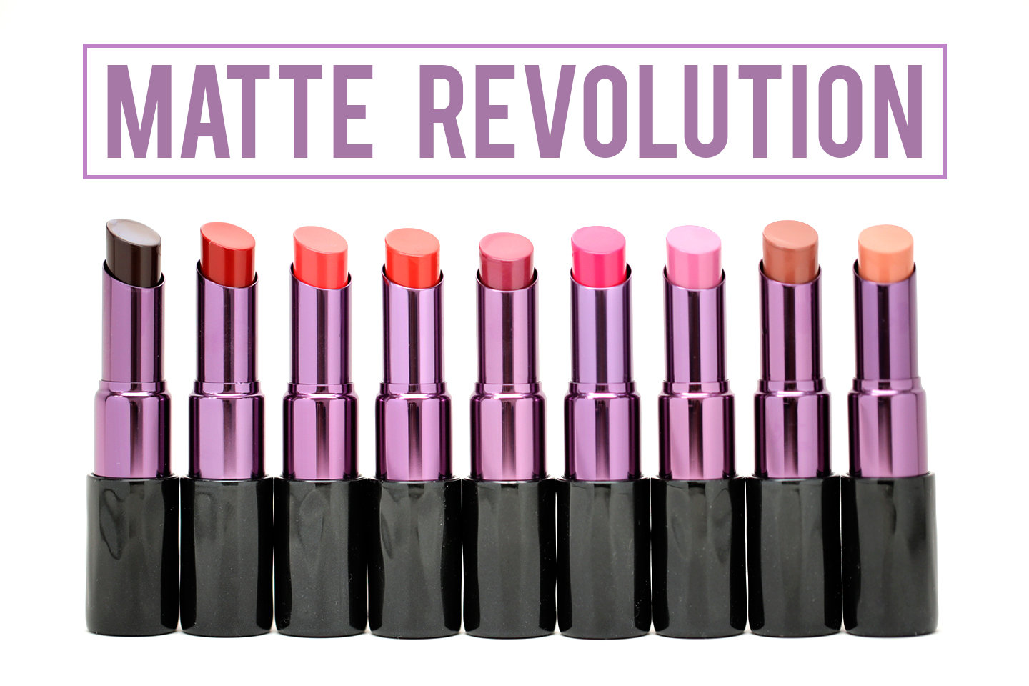 REVIEW & SWATCHES: Urban Decay Matte Revolution Lipstick - From Head ...