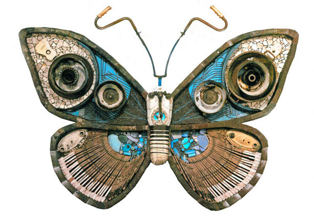 Inspire others amazing recycled art ideas for Amazing recycling projects