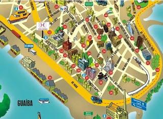 Mapa de Porto Alegre