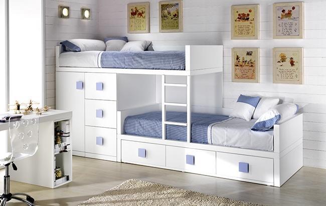 Casas cocinas mueble camas literas baratas for Camas ninos baratas