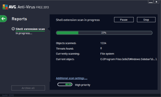 AVG Antivirus 2013 Free Edition