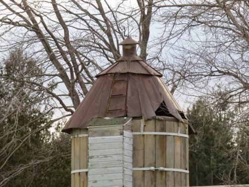 metal silo top