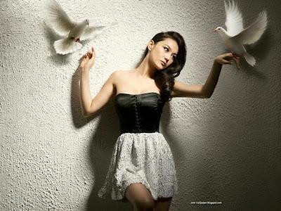 Gambar Wanita Cantik Viann Zhang Xinyu