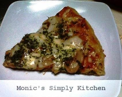 resep pizza oatmeal