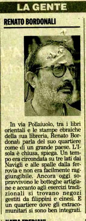 1997 - Renato intervistato