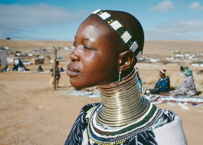 collier femme girafe