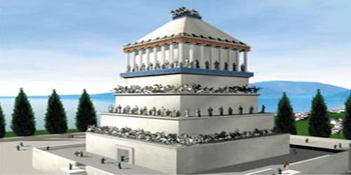 As 7 Maravilhas do Mundo Antigo - 5º O Mausoléu de Halicarnasso