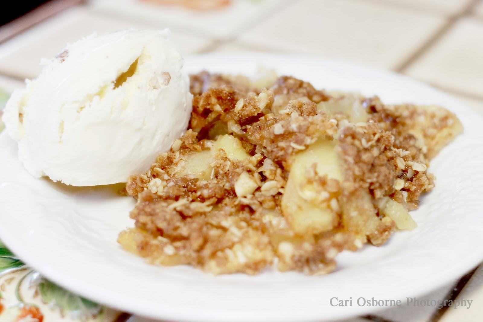 Serve warm with vanilla ice cream or caramel sauce, Enjoy!