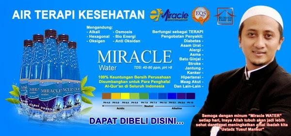 Jual Miracle Water di Medan Murah dan Bisa Diantar