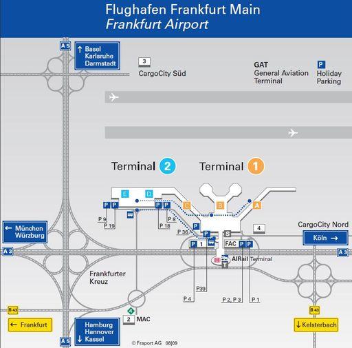 Аэропорт франкфурт германия схема