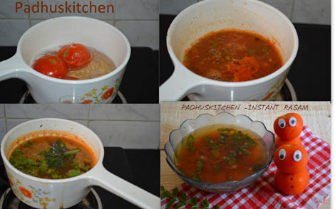 How to prepare Rasam-Quick rasam