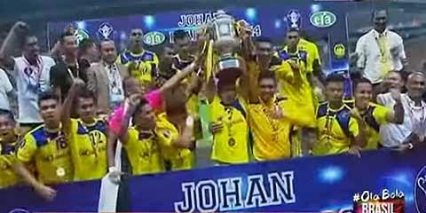 Piala FA 2014 : Pahang Juara