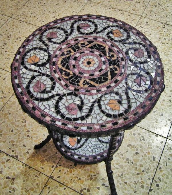 Декор старых столов своими руками
