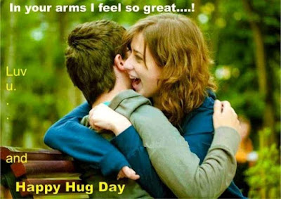 hug day messages for her
