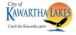 City of Kawartha Lakes logo featuring Osprey water and sun