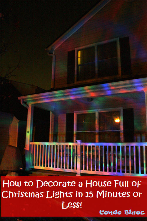 to decorate a house full of energy saving christmas lights and it only took 15 minutes it will take even less time to take them down after the holiday - When To Take Down Christmas Lights
