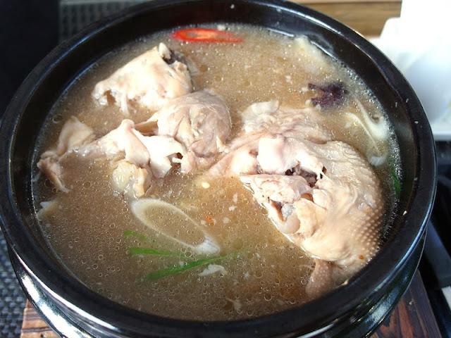 lunarrive somerset triple one korean restaurant cuisine samgyetang ginseng chicken soup random date