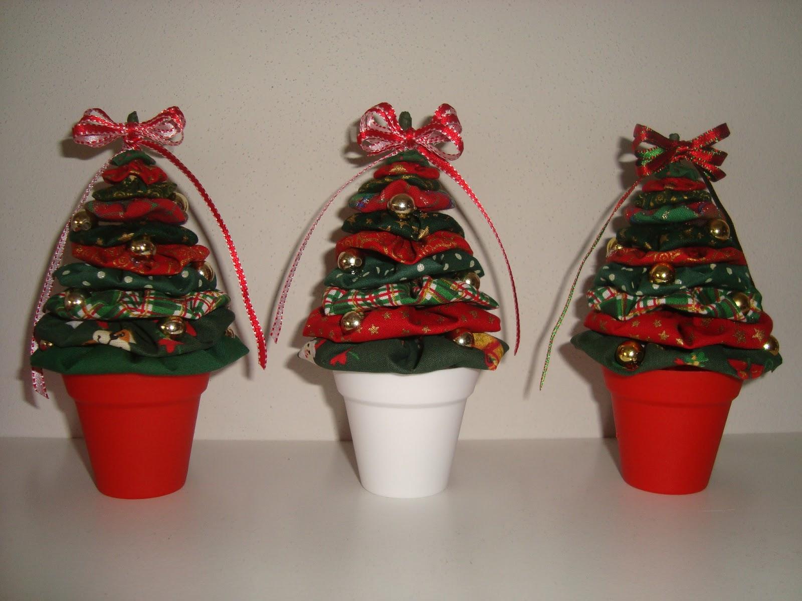 Arte Customizada by Priscila Kato: Árvore de Natal de fuxico #B41917 1600x1200