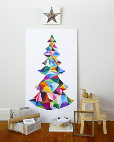 Gos christmas tree inspiration no fuss diy ideas for small spaces - Creative modern christmas tree designs for christmas celebration ...
