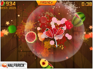 fruit ninja hd iphone review