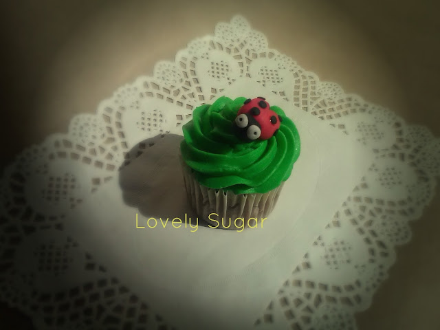 Cupcakes de primavera