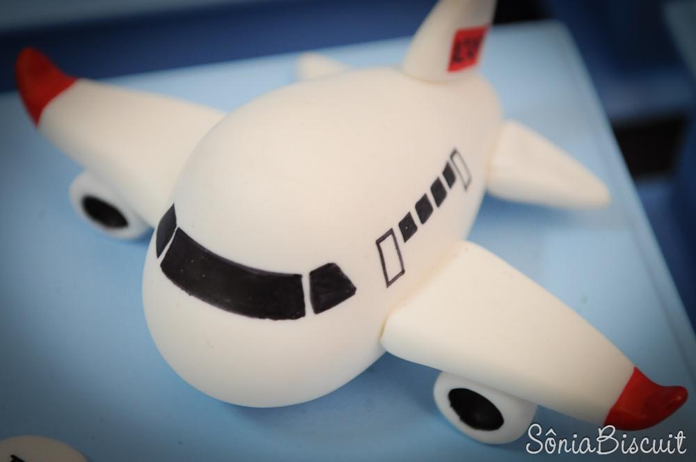Lembrancinha Biscuit Avião