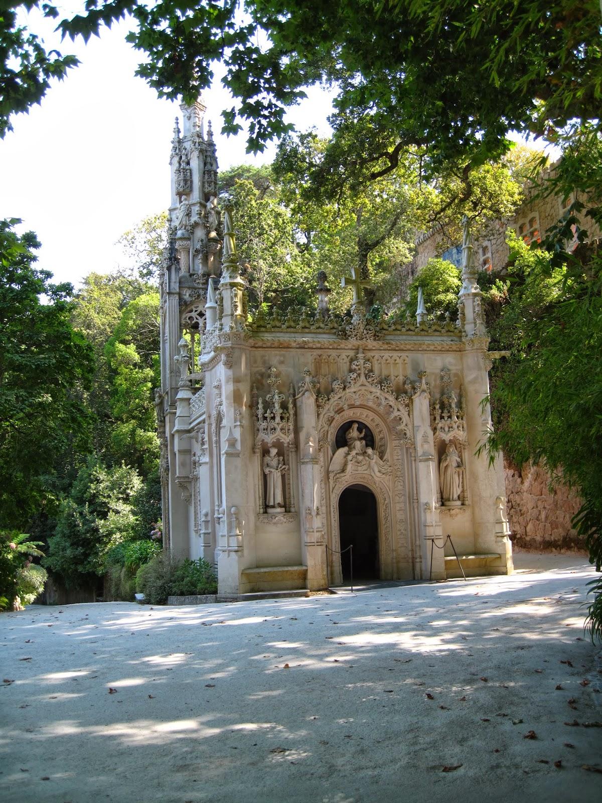 Locos por el monte sintra parque quinta da regaleira for Jardin a sintra hermes