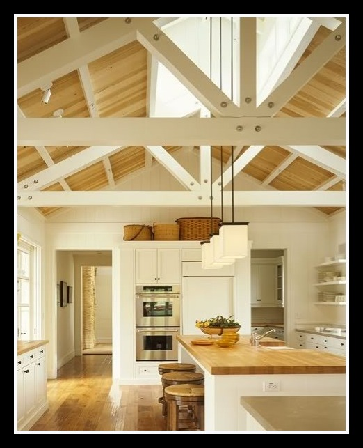 My Rafter House: Living Lollie: Kitchens For An Ivory Tower